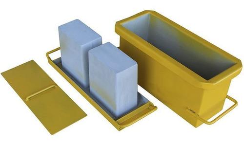 Imagem 1 de 6 de Forma Bloco Manual N14 Fundo Vazado 14x19x39 Gastrobel
