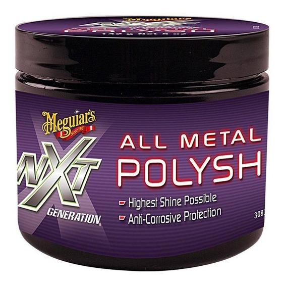 Pasta Para Polir Metais Nxt - All Metal Polysh 142g Meguiars