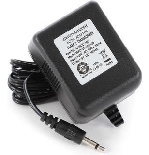 Fonte 9v P2 Macho Electro Harmonix Para Pedal 110v