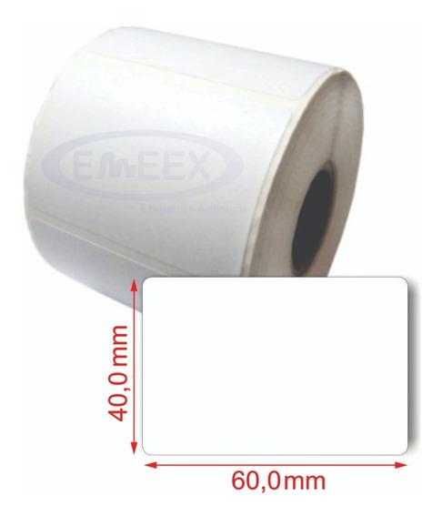 Etiqueta 60x40 Balança Filizola Platina / 20 Rolos
