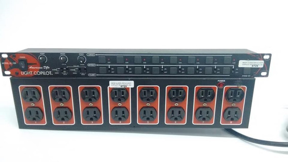 Controlador De Luzes Light Copiloto Mesa Iluminacao Lc-8sp