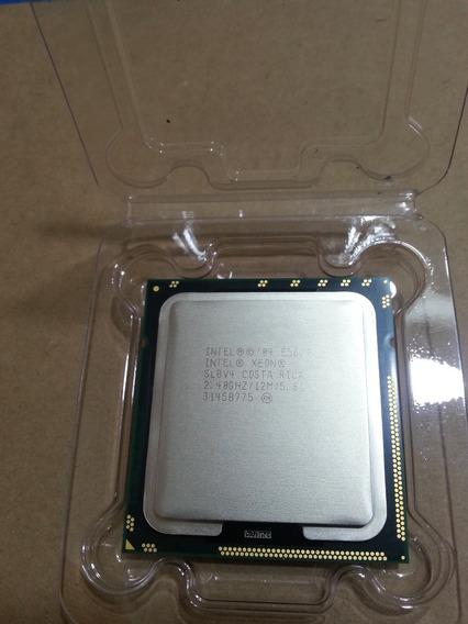 Intel Xeon Quad Core E5620 12m Cach/2.4mhz/5.86 Gt/s