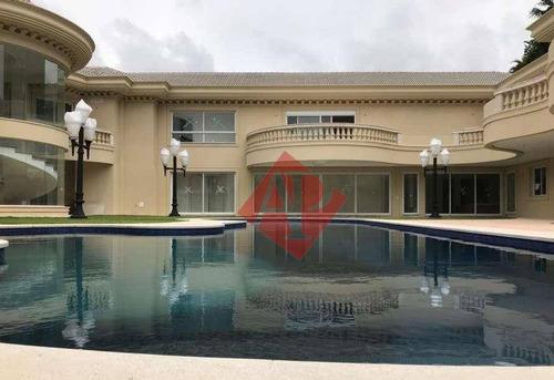 Imagem 1 de 29 de Mansão Com 10 Dormitórios À Venda, 2016 M² Por R$ 30.000.000 - Tamboré 3 - Alphaville - So0253