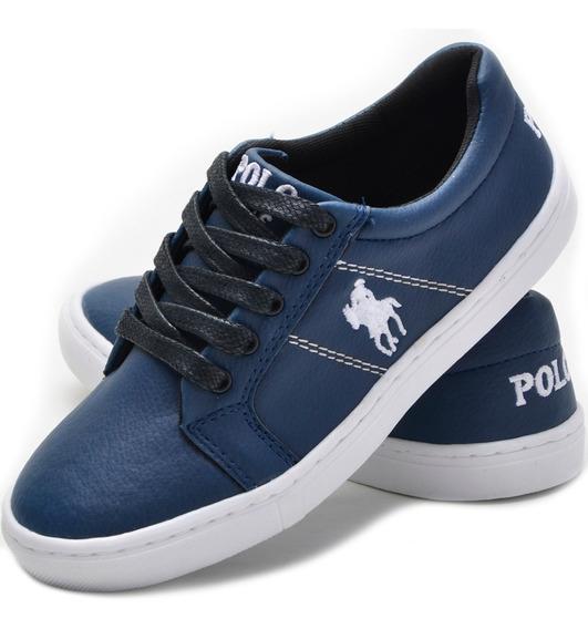 Super Promoção Tênis Polo Plus Infantil Casual Original