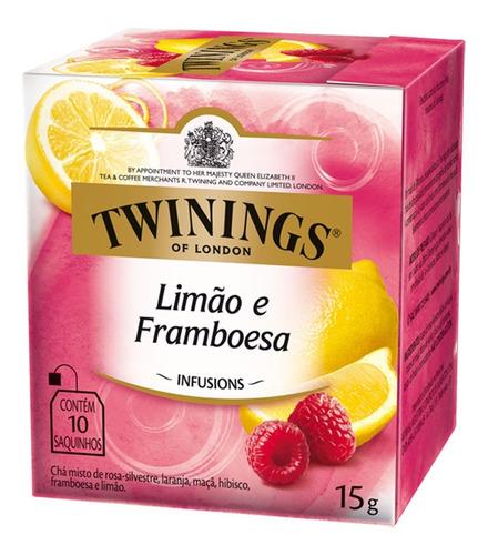 Chá Twinings Limão E Framboesa 10 Sachês