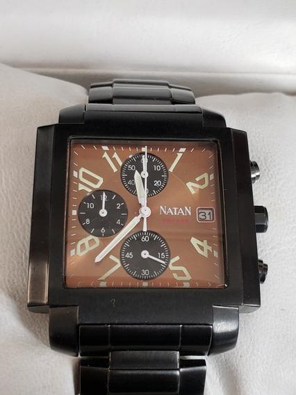 Relógio Natan Square Com Caixa
