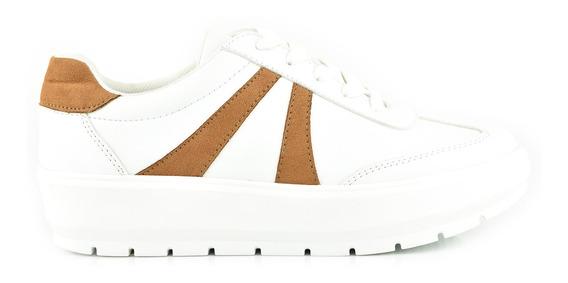 Tenis Urbanos Para Mujer Lob Footwear 067-9601 Blanco Nuevo Oi19