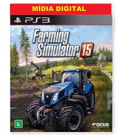 Farming Simulator 15 Ps3 Cod I Psn Digital