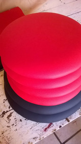 Kit C/ 04 Assentos Estofados (sob-medida) P/banqueta/cadeira
