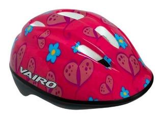 Casco Infantil Ciclista Niña - Vairo Flower