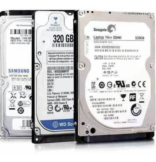 Disco Duro 320gb Sata Laptop 2.5 5400rpm Sellado