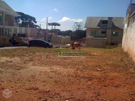Terreno À Venda, 316 M² Por R$ 325.000,00 - Pilarzinho - Curitiba/pr - Te0050