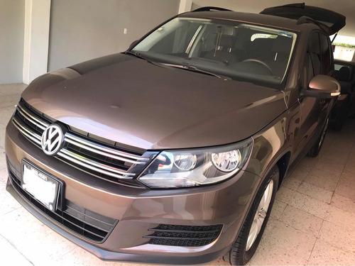 Imagen 1 de 15 de Volkswagen Tiguan 2014 2.0 Sport&style Paq Nave At