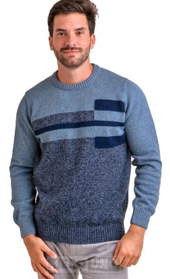 Sweater Hombre Pullover Saco De Lana Varios Colores Kierouno