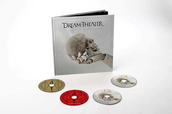 Dream Theater - Distance Over Time [2cd+bd+dvd] Artbook Lacr
