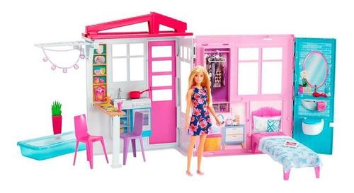 Nueva Casa Glam De Barbie Incluye Muñeca