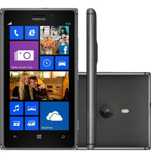 Nokia Lumia 925 - Windows 8, 4g, 8.7 Mp, 16 Gb - Novo