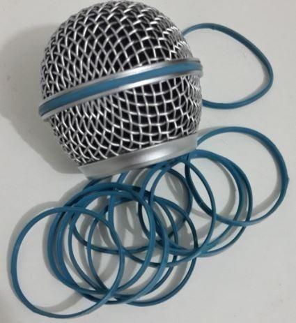 Anel De Borracha Para Globo De Microfone Sm Beta E Similar