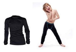 Equipo Termico De Nene Camiseta Termica Mas Boxer Largo