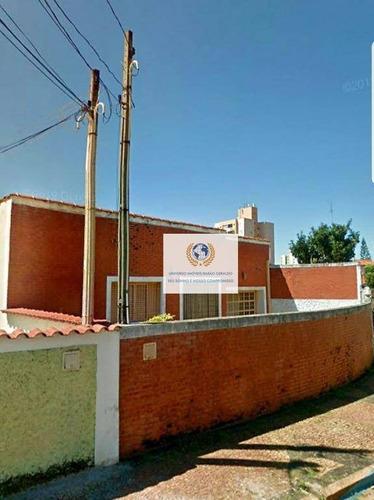 Casa Com 4 Dormitórios À Venda, 135 M² Por R$ 400.000,00 - Botafogo - Campinas/sp - Ca1139