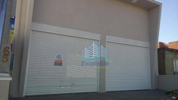 Salão Para Alugar, 160 M² Por R$ 4.000,00/mês - Jardim Nova Alvorada - Hortolândia/sp - Sl0124