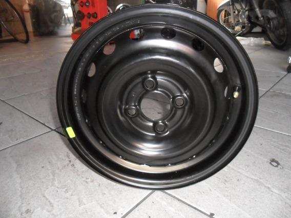 Roda Nissan March Aro 14 Original Nova Zera Ferro