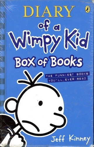 Diary Of A Wimpy Kid (set Books 1-6) - Kinney Jeff