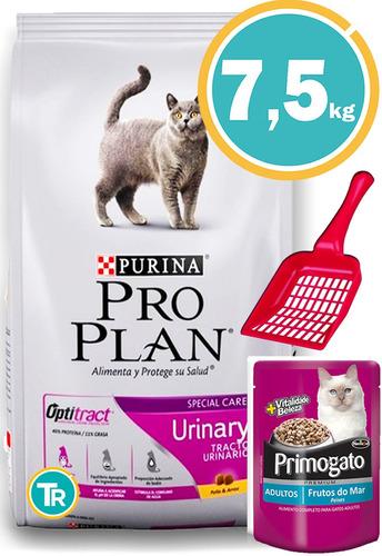 Imagen 1 de 7 de Comida Gato Pro Plan Cat Urinary 7,5kg + Envío Gratis