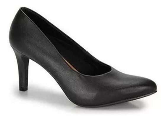 Sapato Scarpin Feminino Usaflex Y3601/01