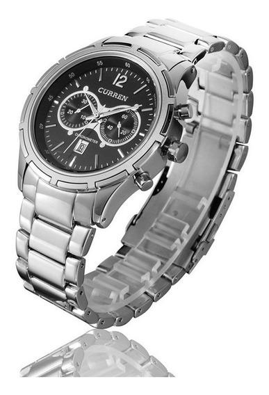 Reloj Moderno Uso Rudo Hombre Análogo Original Curren 8045