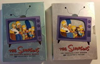 Los Simpsons - Temporadas 1 Y 2 De Colección