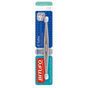 Escova Dental Bitufo Dois Tufos Macia