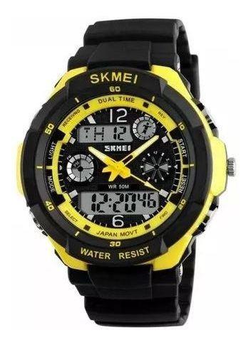 Relógio Esportivo Militar Masculino Skmei S-shock 0931 Amare