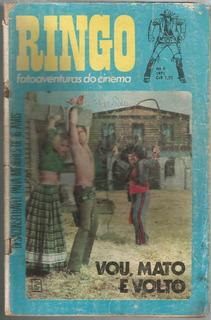 Revista Ringo Fotoaventuras Do Cinema Numero 08