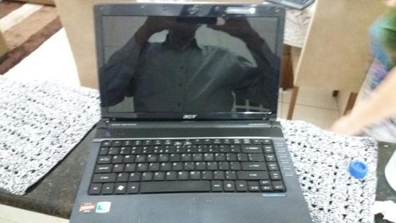 Notbook Acer 14pol Completo Com Defeito