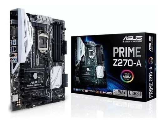 Placa Mãe Asus Prime Z270-a