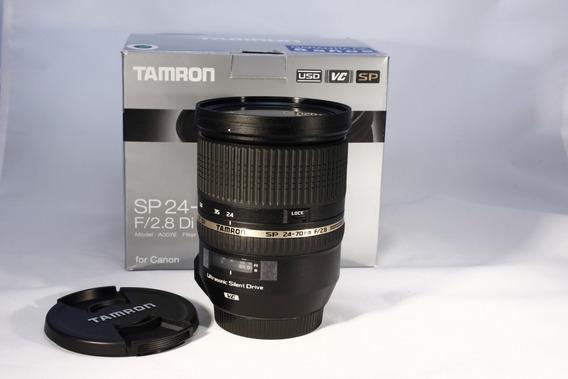 Lente Tamron 24-70mm F2.8 Di Vc Usd - Ø82mm