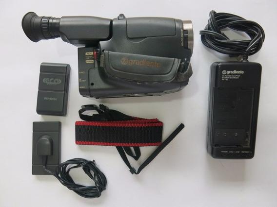 Filmadora Gradiente Vhs Video Maker Gcp 155c