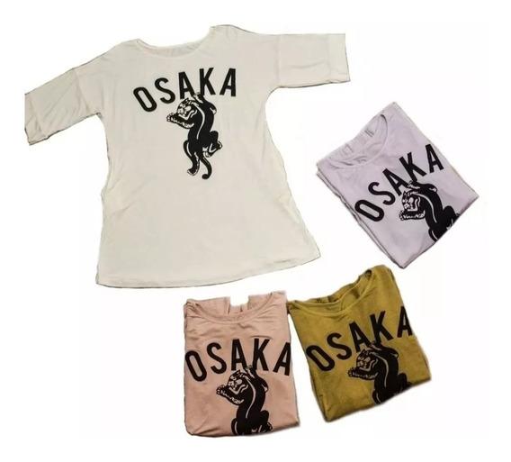 Remeron Osaka Con Bolsillos Estampado