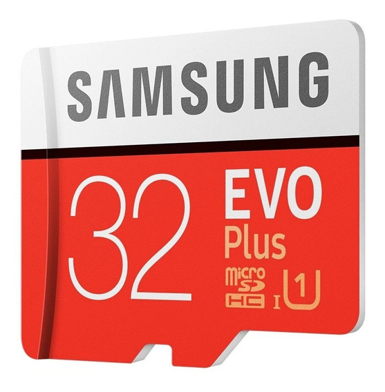 Micro Sd Samsung Original Evo Plus 32gb 95mb/s + 2 Brindes