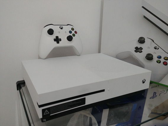 Xbox One S 4k 500gb Branco Original + Controle