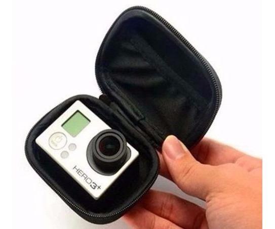 Mini Case - Para Gopro Hero 3 - 3+ 4 - Minicase De Bolso