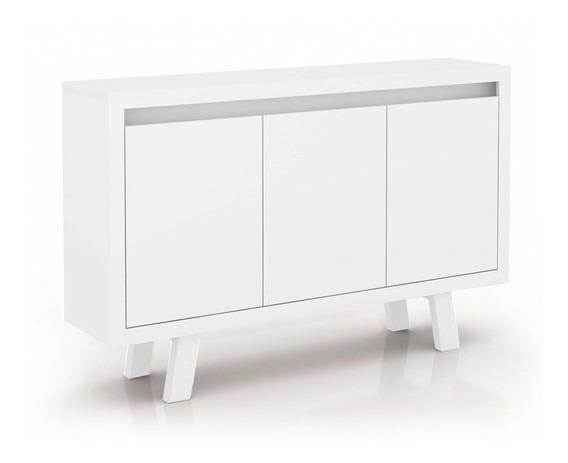 Balcão De Escritório Tecno Mobili Me-4120 C/ Branco