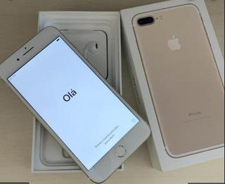 iPhone 7 Plus 256gb - Perfeito Estado, Com Caixa E Nota.