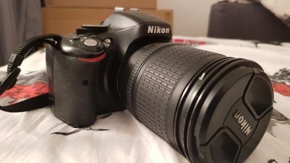 Camera Nikon D5100+lente 18-105mm Full Hd