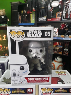 Stormtrooper Star Wars Funko Pop 05 Original Collectoys