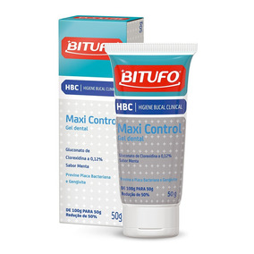 Gel Dental Bitufo Maxi Control Com 50g
