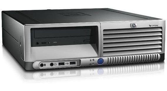 Cpu Hp Pentium 4 2gb Hd 80gb Teclado E Mouse