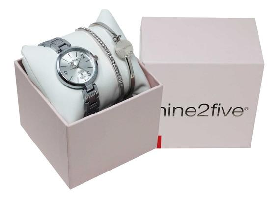 Set De Reloj Y Pulseras Para Mujer Nine2five Afw19setd15slsl