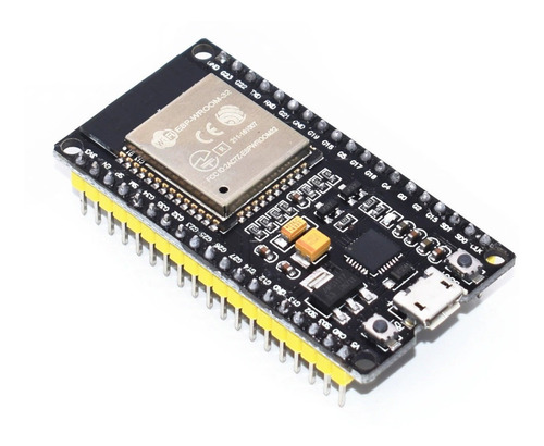 Imagem 1 de 3 de Placa Esp32 Wroom32 Cp2102 Wifi Bluetooth 38 Pinos
